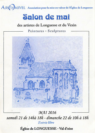 Salon de mai Longuesse (95) 21 et 22 mai 2016 photos
