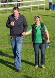 Daniel North and Holly Campbell - Meynell and South Staffs at Garthorpe, 2nd June 2013
