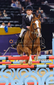 Charlotte Duggan and King Mac, Blue Chip Pony Newcomers, , Horse of the Year Show 2010