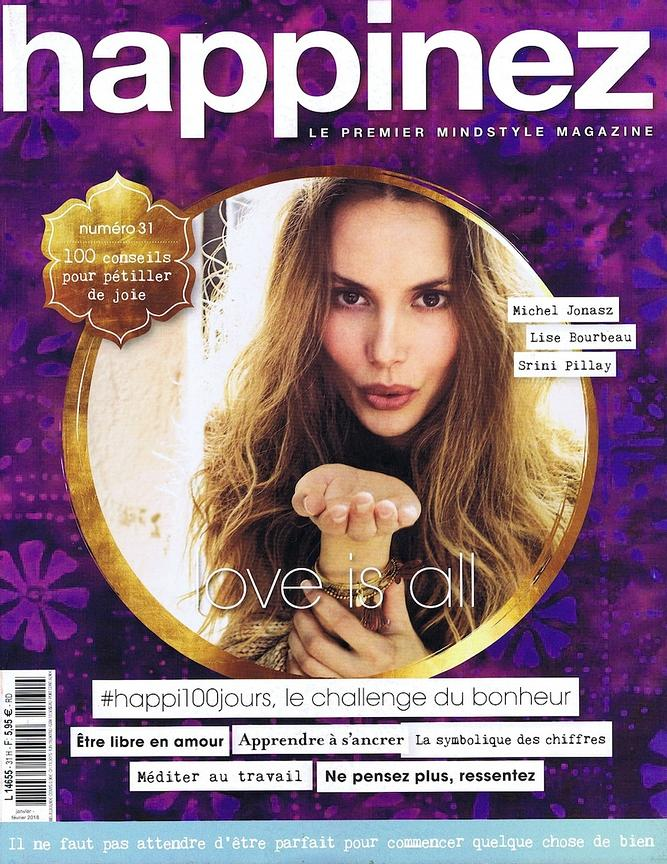 Happinez Magazine (France) - Janv 2018 photos