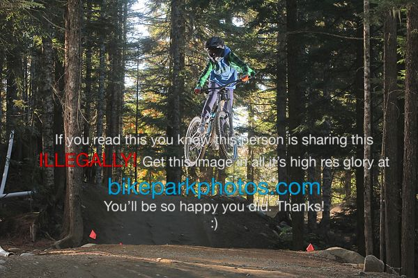 Sunday Oct 8th  ALine Double bike park photos