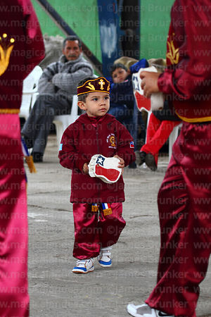 Young morenos dancer at St Peter and St Paul festival, Arica, Chile