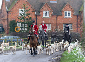 Robert Medcalf and the Cottesmore foxhounds