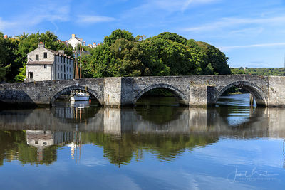 River Teifi and road bridge, Cardigan