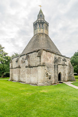 Abbot's Kitchen- Glastonbury Abbey, England