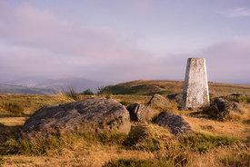 White Edge trig point