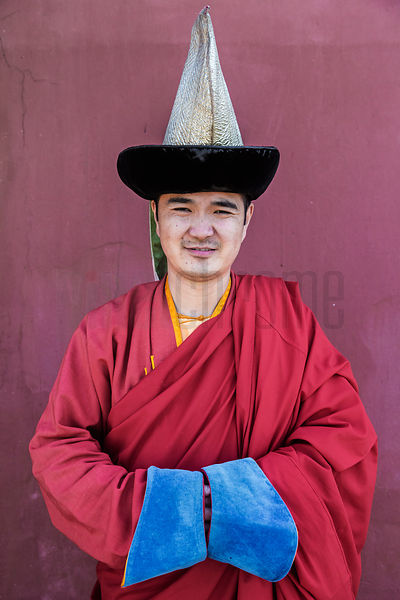 Portrait of a Monk at the Gandan Temple