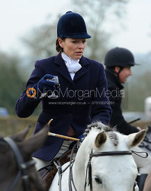 Sallyanne Brooksbank - The Cottesmore Hunt at Hill Top Farm 10/12/13