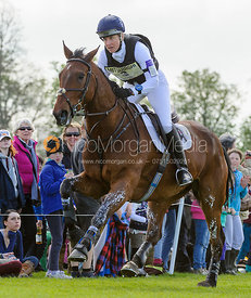 Kristina Cook and DE NOVO NEWS - Cross Country - Mitsubishi Motors Badminton Horse Trials 2013.