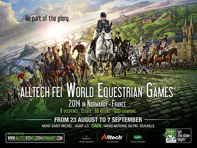 2014_World Equestrian Games Normandy photos