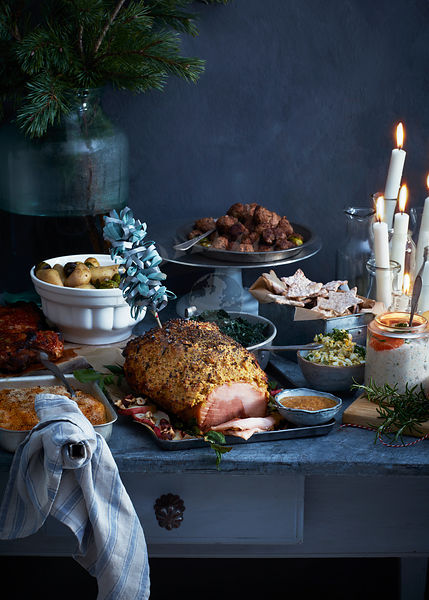 Scandinavian Winter Food Photos