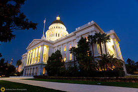 The State Capitol Building at Nibght #6