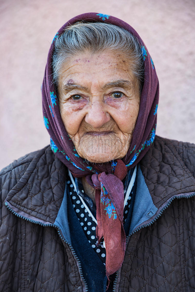 Portrait of a Romanian Woman