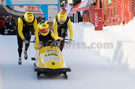 Olympia Bob Run Saint St. Moritz.World Cup Event 2010
