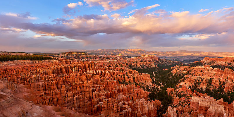 Bryce Sunset Panorama