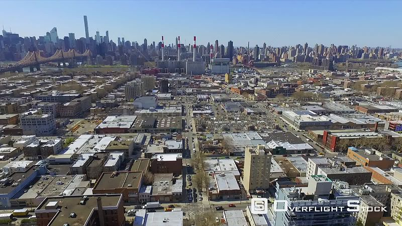 Drone Footage Manhattan from Brooklyn and Queensboro Bridge  New York City USA