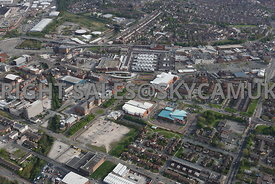 Birkenhead aerial photograph of Birkenhead town centre and the retail shopping centre
