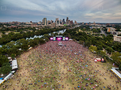 Austin City Limits Music Festival ACL Austin Texas USA