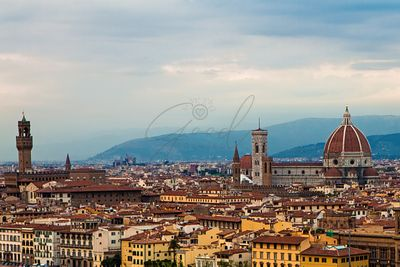 Skyline view of Florence Italy