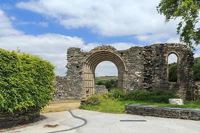 STRATA FLORIDA ABBEY photos
