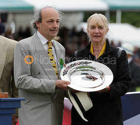 Russell Hall and Frances Stead - Burghley Horse Trials 2013.