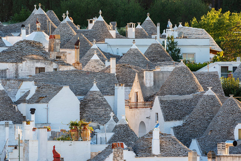 Trulli Buildings in Alberobello