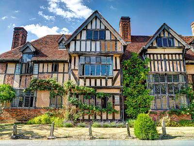 Wick Manor - Tudor style old building in Worcestershire