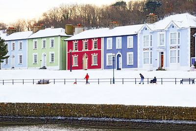 ABERAERON SNOW, DECEMBER 2010 photos
