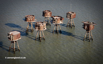 Red Sands Fort (U6) , one of the  Maunsell Sea Forts