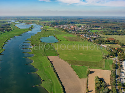 Elster Buitenwaarden (floodplains) along the Lower Rhine at Elst,
