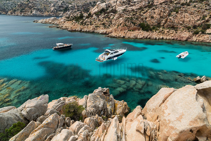 Cala Citiccio on the island of Caprera in the Maddalena Archipelago