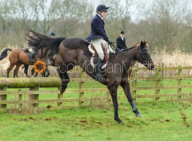 Helen Lovegrove jumping a fence at Goadby Marwood 11/1