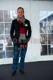 Gunter Sachs Memorial Service 2012 in St.Moritz