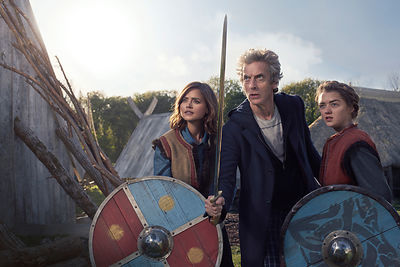Doctor Who Series 9 Ep5 The Girl Who Died, unit photographer