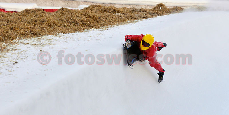 Cresta Run Rider Tom de Boinville photos