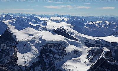 Walter Peak and the Continental Divide Canadian Rockies