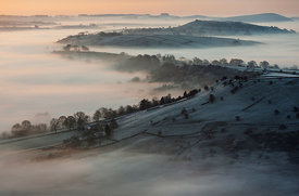 Upper Dove valley inversion