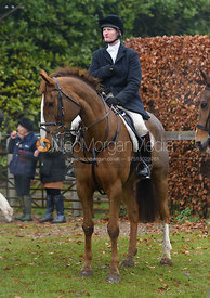 Tim Edwards at the meet at Barleythorpe 6/12