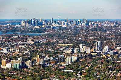 Strathfield and Burwood to Sydney City