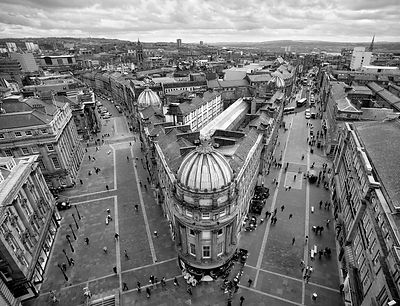 View of Newcastle upon Tyne from Grey's Monument