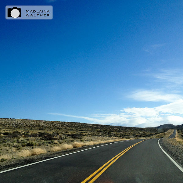 Endless roads and nice weather (learn: if the weather is bad on one sides of the Andes, go to the other!)