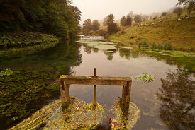Sluice gate on the Lathkill