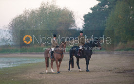 The Cottesmore Hunt at Eyebrook, 15/10/11