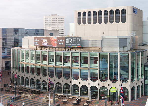 The Rep Theatre, Centenary Square, Birmingham