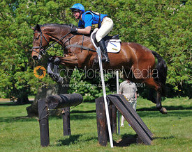 Emilie Chandler and Cavaliers Knight, Brigstock International Horse Trials 2010