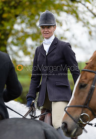 Zoe Mossman at the meet - Cottesmore Hunt Opening Meet, 24/10/2017