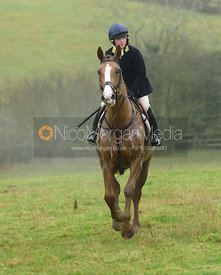 Bella Higham - The Cottesmore Hunt at Stone Lodge 13/12