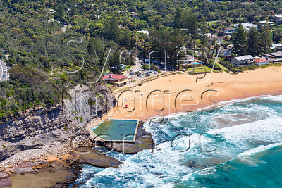 Bilgola Beach, Southern End