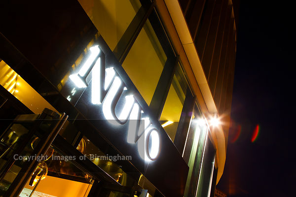 Nuvo bar and nightclub, Brindleyplace, Birmingham, England, UK