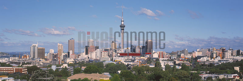 Auckland Skyline, North island, New Zealand